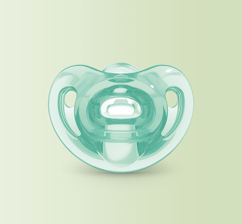 sensitive orthodontic pacifier