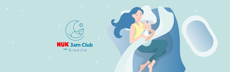 3 AM club with breethe