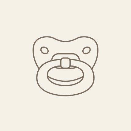 pacifier illustration handle